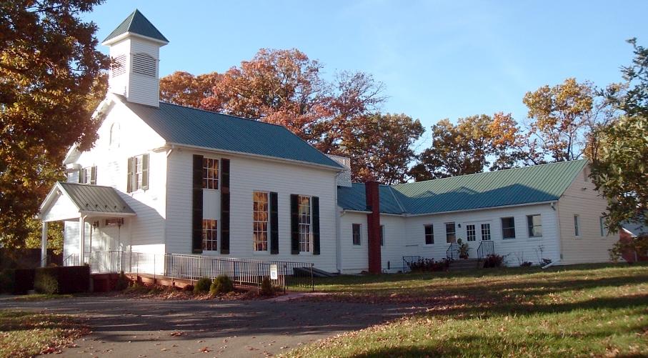 Barnesville Baptist Church front view