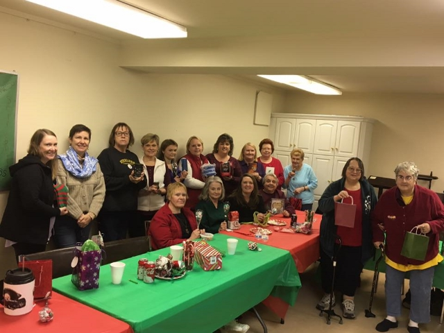 women cookie exchange